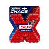 Rezerva proiectile 50 de bucati, X-Shot Chaos