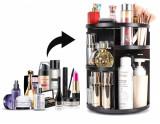 Suport rotativ pentru cosmetice- negru