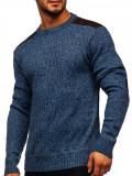 Pulover bărbați albastru Bolf GFL9