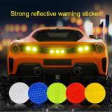 Set 10 buc sticker reflectorizant CERC (10 buc, diametru 4cm), 4World