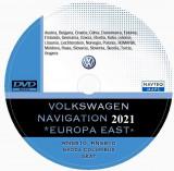 Dvd Harti navigatie Volkswagen RNS 510 VW Passat CC Tiguan GPS