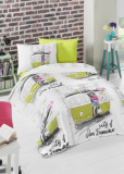 Cumpara ieftin Lenjerie de pat pentru copii Valentini Bianco model San Francisco