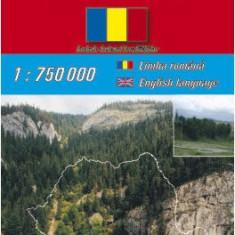 Harta rutiera Romania |