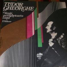tudor gheorghe veniti privighetoarea canta versuri macedonski disc vinyl lp folk