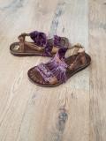 LICHIDARE STOC! Sandale dama noi piele naturala integral foarte comode 36 si 37