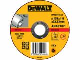 Disc aluminiu 125x1.6x22.2mm T1 S DeWalt - DT42360