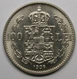 100 LEI 1936 . LUCIU DE BATERE . DETALII EXCELENTE ., Nichel
