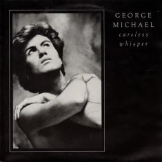 "George Michael - Careless Whisper (1984, Epic) Disc vinil single 7"""