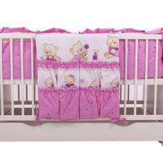 Buzunar patut teddy toys roz