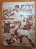 Revista sport februarie 1962-stadionul din constanta,petrolul ploiesti in turneu
