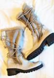 Cizme de designer MARC - imblanite, talpa antiderapanta, 37, Din imagine