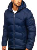 Cumpara ieftin Geaca de iarnă sport matlasată bleumarin Bolf AB102