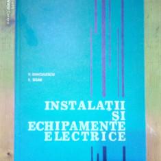 Instalatii si echipamente electrice-P.Dinculescu,F.Sisak