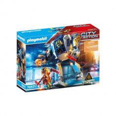 Playmobil City Action - Robot de politie pentru operatiuni speciale