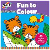 Carte de colorat Fun to Colour PlayLearn Toys, Galt