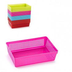 Cutie din plastic multiple intrebuintari-roz
