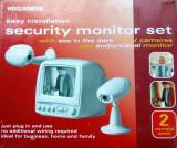 Cumpara ieftin KIT supraveghere video cu 2 camere Wi-Fi alb-negru (DEFECT), 1
