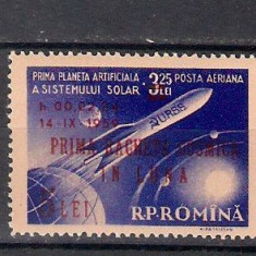 1959 - Prima racheta cosmica, supr neuzata
