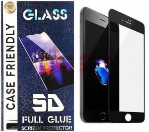 Geam protectie display sticla 5d full glue samsung galaxy a20 black