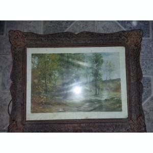 2 RAME de tablou vechi,rame vechi pentru picturi vechi,Transport GRATUIT