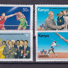 Kenya  1978  sport  MI 115-118    MNH  w59