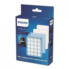 Set filtre Ultra Hygiene aspirator Philips PowerPro Active FC8670 - FC8679,...