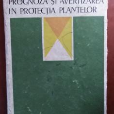 PROGNOZA ȘI AVERTIZAREA ÎN PROTECȚIA PLANTELOR - A. SAVESCU & COLAB