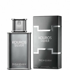 Apa de toaleta Yves Saint Laurent Kouros Silver, 100 ml, pentru barbati