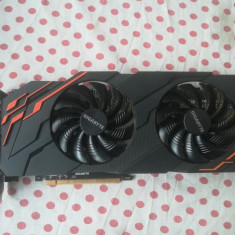 Placa video GIGABYTE GeForce GTX 1070 Windforce OC 8GB GDDR5 256-bit.