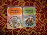 Legendele olimpului zeii,eroii 2 volume -alexandru mitru