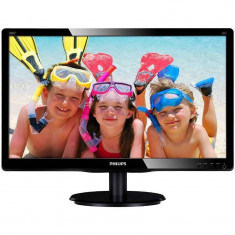 Monitor LED Philips 200V4QSBR/00 19.5 inch 8ms Black