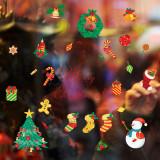 Cumpara ieftin Sticker decorativ Craciun pentru perete si fereastra Giftify Christmas tree cu decoratiuni