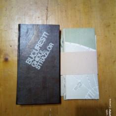 Bucuresti-ghidul strazilor +harta