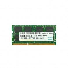 Memorie laptop APACER 4GB DDR3 1600MHz CL11 1.5V