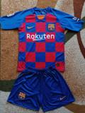 Echipament Barcelona Copii 13 ani - Marimea 172, XS sau mai mic, Tricou + Pantalon