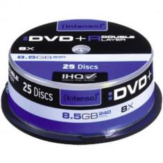 Mediu optic Intenso DVD-R 8.5GB 8x 25 bucata