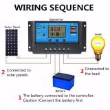 Controler regulator solar PWM 30A 12V/24V 2usb