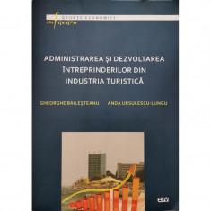 Administrarea si dezvoltarea intreprinderilor din industria turistica - Gheorghe Bailesteanu, Anda Ursulescu-Lungu
