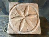 Arta si Design - Veche placa ceramica model deosebit / oras Sebis judetul Arad !