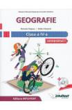 Geografie - Clasa 4 Sem. 1+2 - Manual + CD - Manuela Popescu, Stefan Pacearca