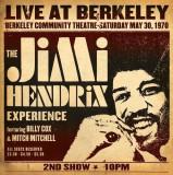 Jimi Hendrix Experience Live At Berkeley LP 2017 (2vinyl)