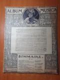 partitura muzicala pentru vioara din anul aproximativ 1890-1900
