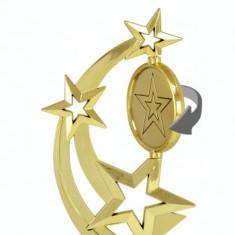 Trofeu Star plastic-marmura, 24 cm inaltime