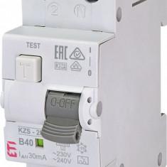 Siguranta automata diferentiala RCBO 40A,1+N TIP A, Curba B40, Capacitatea de...
