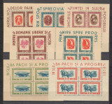 Romania.1946 Tineretul progresist  bloc 4  XR.120, Nestampilat