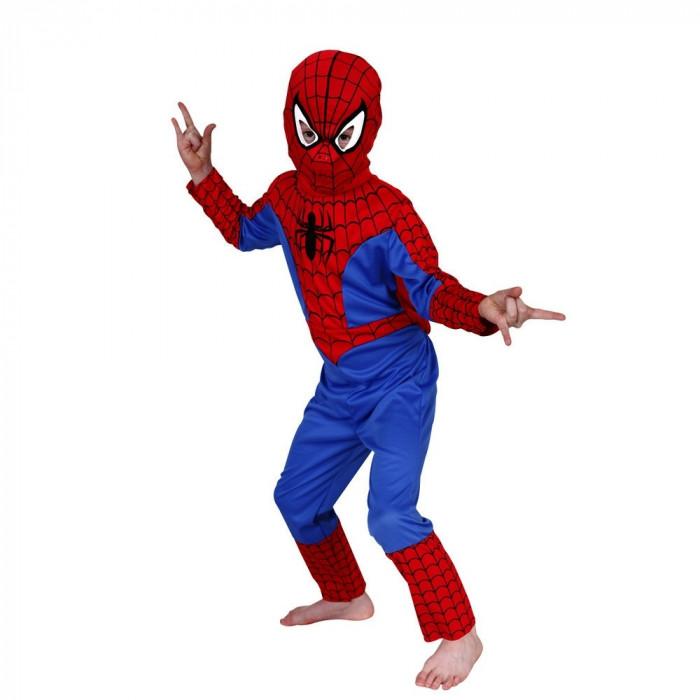 Costum Spiderman copii, L, 120-130 cm, pentru 7 - 9 ani
