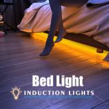 Kit banda LED pentru pat lungime 2 metri cu senzor miscare