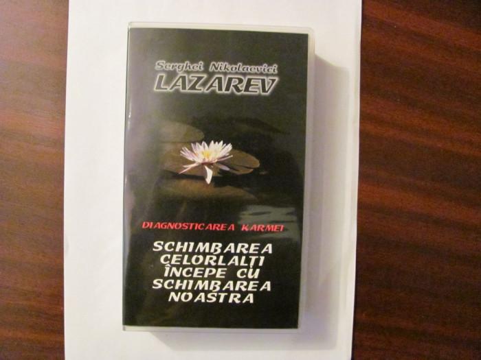 """GE - Caseta video """"Diagnosticarea Karmei / Schimbarea Celorlalti"""" LAZAREV"""