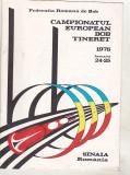 bnk div - CE de bob tineret Sinaia 1976 - program