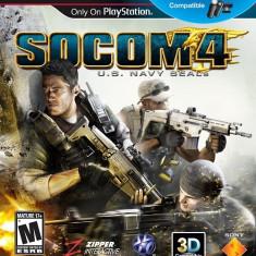 SOCOM 4 Move Compatible PS3